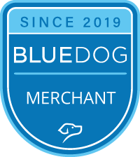 Since 2019 BLUEDOG Merchant